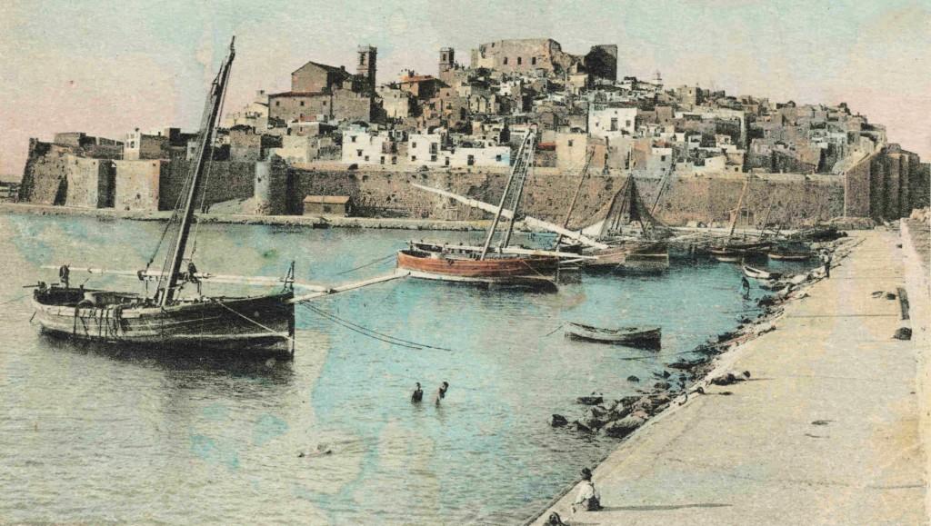 Peniscola_port_(1930)
