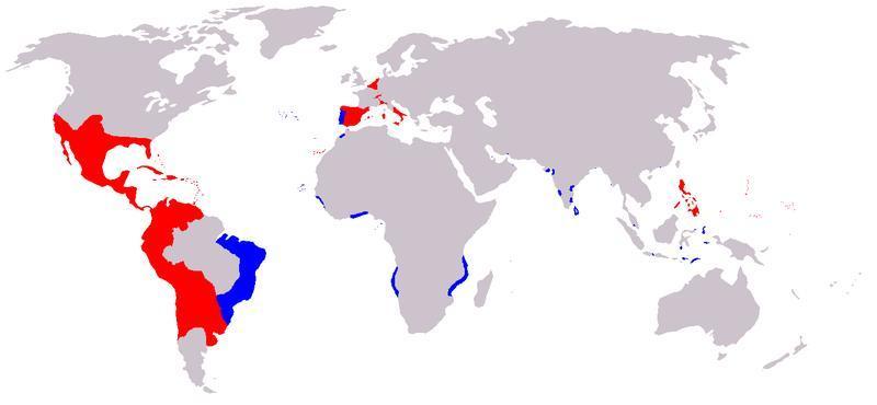 mapa felipe II.