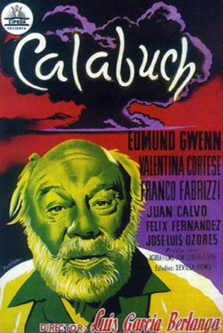Calabuch cartel de la pelicula de Peñíscola.