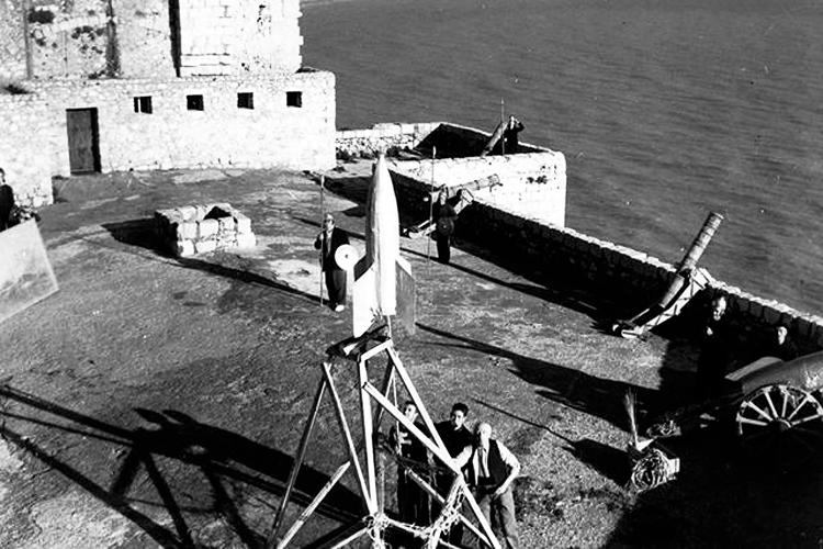 Calabuch película rodada en Peñíscola del director Bernaga.