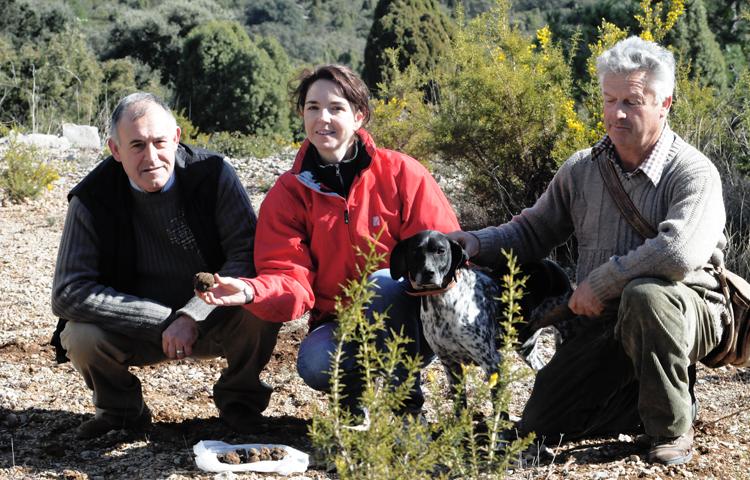 trufas Avelino, Cristina, Joaquin y Perla