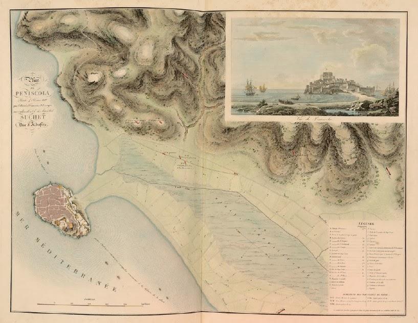 Plan de Peñiscola,1812