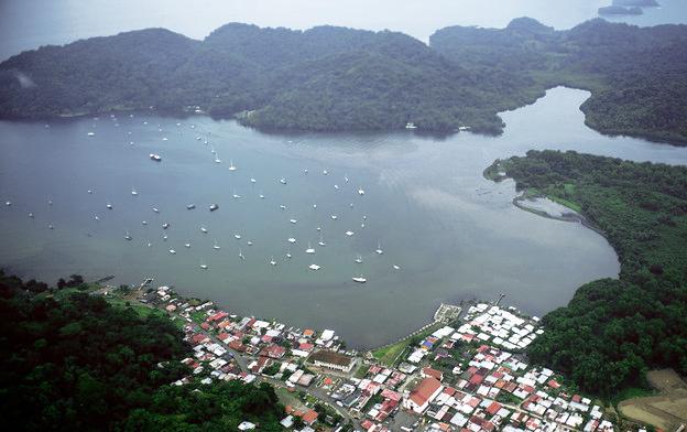 Bahía de Portobelo.