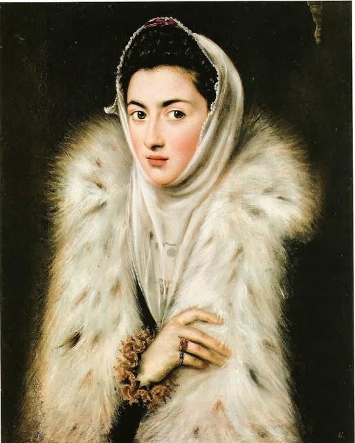 1591 Infanta Catalina Micaela by by Sofonisba Anguissola