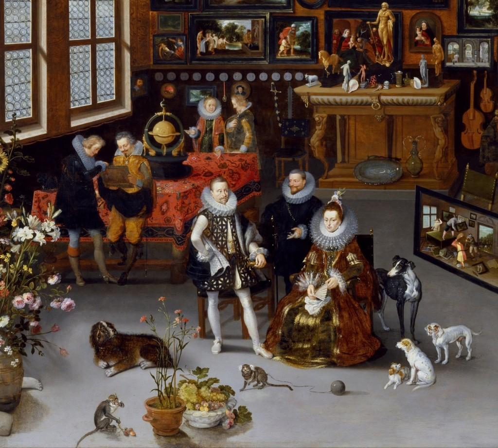 1621c H.Francken_Albert_and_Isabella_Visiting