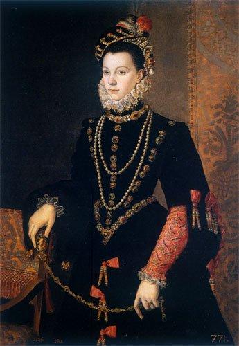 Isabel de Valois (c. 1562), de Sofonisba Anguissola
