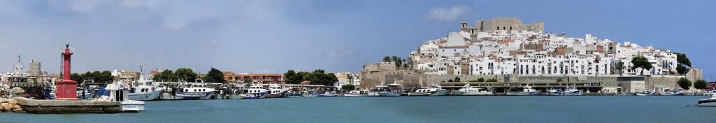 panorama peñiscola puerto pequeño